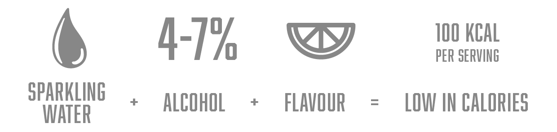 Hard Seltzer Infografik